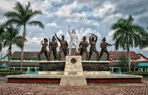 PETA Monument In Blitar City, East Java Is A Heroic Symbol