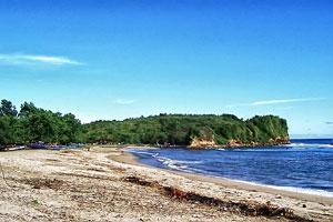 Tambakrejo Beach Tourism In Blitar East Java Enjoy Its