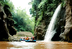 Bosamba Rafting The Real Adventure Of Rafting In Bondowoso East Java