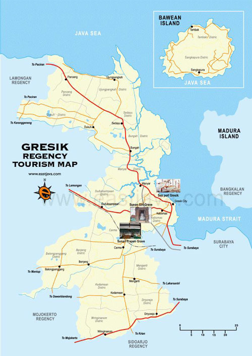 PT Petrokimia Gresik Indonesia Map
