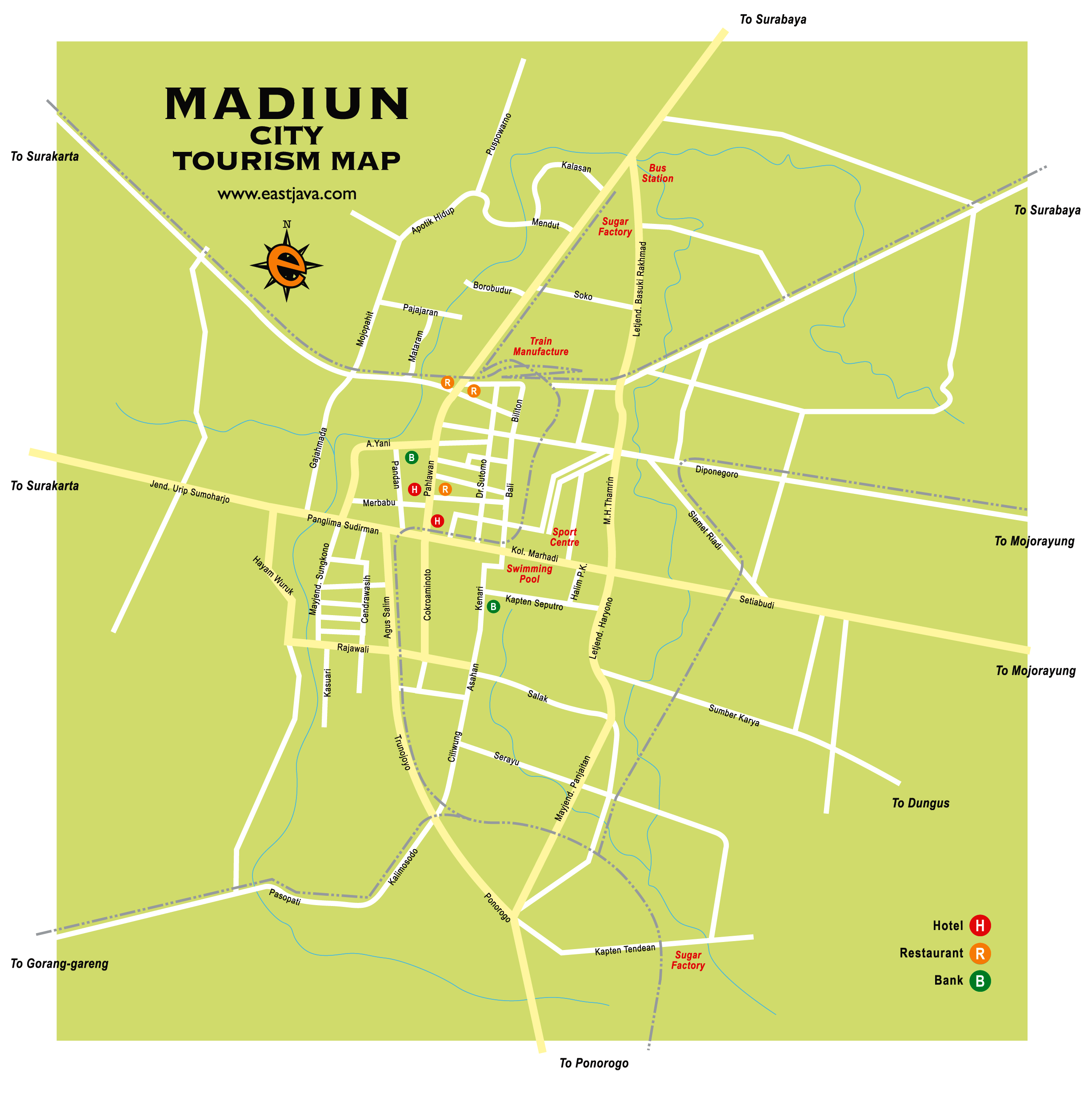 Madiun Indonesia  city photos : Madiun es una ciudad de Indonesia , situada en la isla de Java .