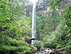 Coban Rondo Waterfall - Pujon Tourism - Malang East Java on
