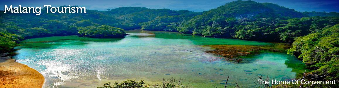 Coban Rondo Waterfall - Pujon Tourism - Malang East Java on kota batu, rumah batu, dunia batu,