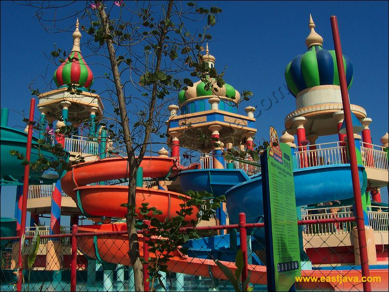 Ciputra Waterpark Surabaya The Biggest Water Park In Indonesia